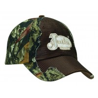 Justin Mossy Oak Camo with Dark Brown Mesh