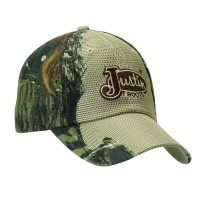 Justin Mossy Oak Camo with Tan Mesh