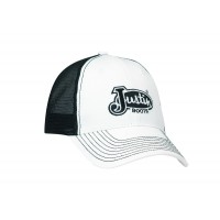 Justin White with Black Mesh Cap
