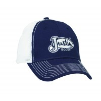 Justin® Dark Navy with White Mesh Cap