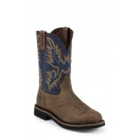 "11"" Steel Blue Cowhide by Justin® Boots"