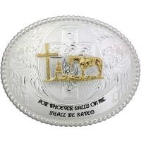 Christian Cowboy Buckle