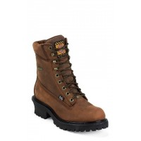 "8"" Mahogany Harness Leather by Justin® Boots"