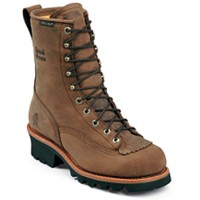 Bay Apache Waterproof Lace to Toe Logger