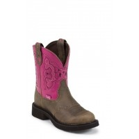 Castle Brown Cowhide by Justin® Boots