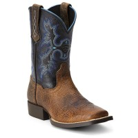 Ariat Kids Tombstone Square-Toe Western Boots