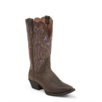 Chocolate Puma Cow by Justin® Boots