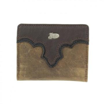 Justin® Grizzly Brown Bi-Fold Wallet