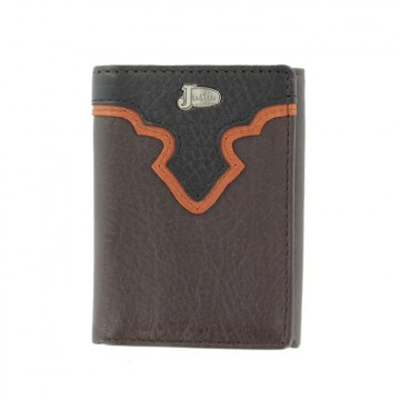 Justin® Brown Tri-Fold Wallet