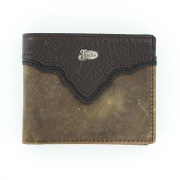 Justin® Brown Bi-Fold Wallet