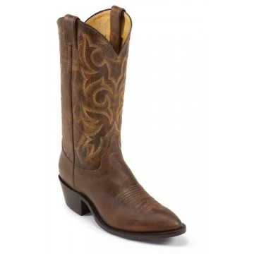 Tan Distressed Vintage Goat by Justin® Boots