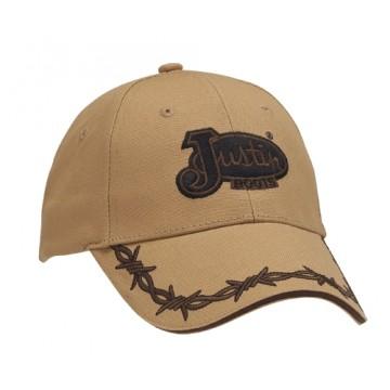 Justin® Tan Barbwire Cap