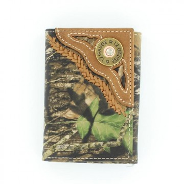 Shotgun Mossy Oak Tri-Fold Wallet