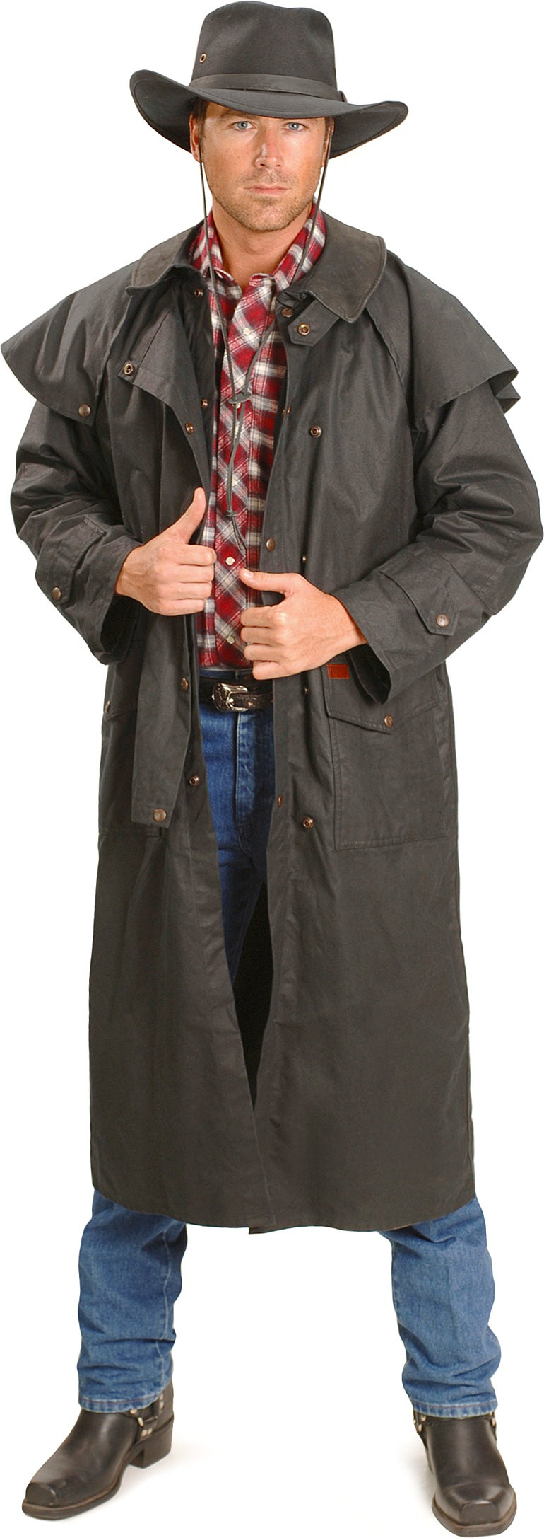 Australian Oilskin Coats Shop the finest selection in Waterproof Australian Oilskin Coats, Oilskin Dusters, Slickers, Oilskin Rain Coats, and Riding Coats online. Each piece of high quality western wear is individually inspected for craftsmanship so you our customers have the best possible experience.