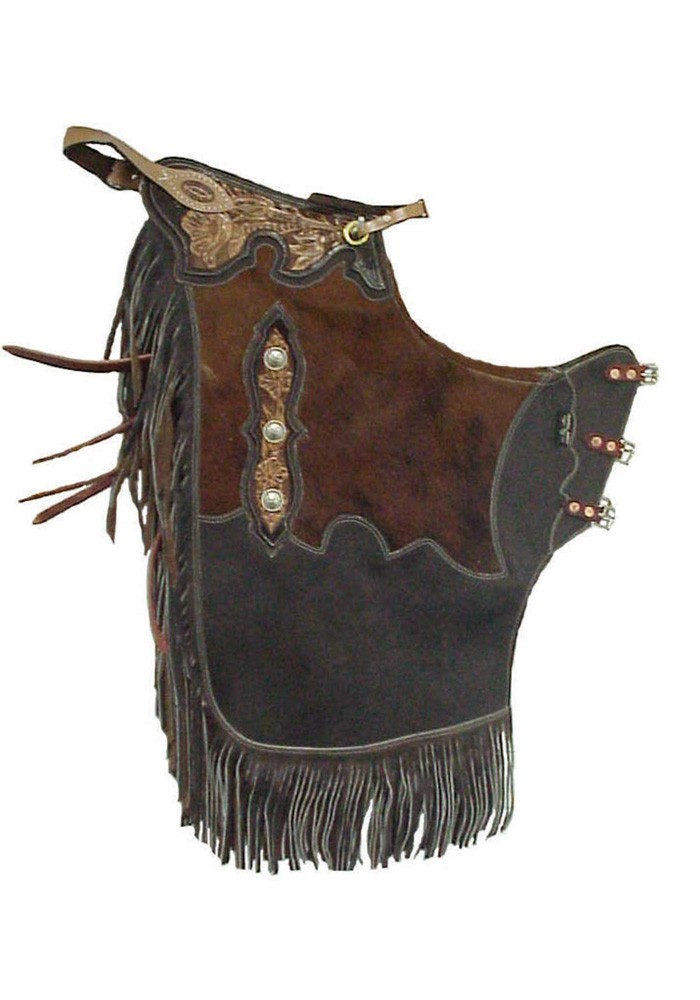 Rended Cowhide Leather Chinks Chaps Chinks Saddles