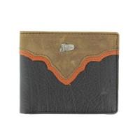 Justin® Black Bi-Fold Wallet