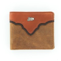 Justin® Copper Grizzly Bi-Fold Wallet