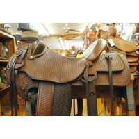 G. Michel Wade Saddle out of Glenville CA
