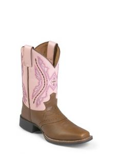 Bay Westerner w/ Saddle by Justin® Boots