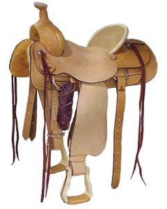 Half Breed Roper Saddle