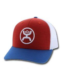 HOOey O classic Red/White Trucker Cap