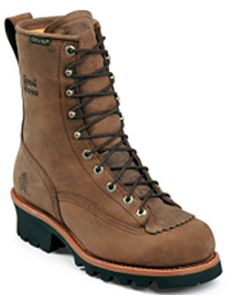 Apache Waterproof Steel Toe Lace to Toe Logger