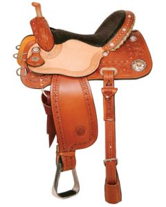 Rockem Sockem Barrel Saddle