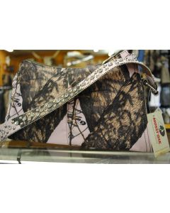 Mossy Oak Pink Camo Bling Small Handbag