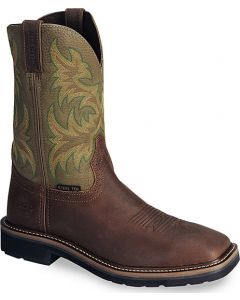 Stampede Waxed Brown by Justin® Boots