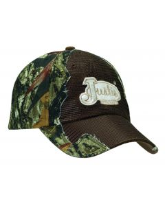 Justin® Mossy Oak Camo with Dark Brown Mesh