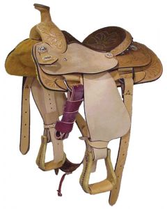 Half Breed Youth Roper Saddle