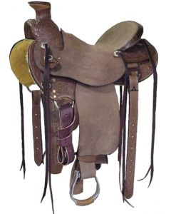 Wade A-Fork Floral Saddle