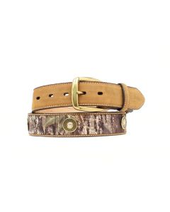 Mossy Oak with Shotgun Belt by Nocona