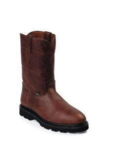 "10"" Brown Wellington by Justin® Boots"