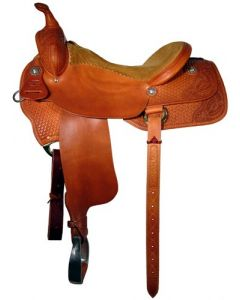 Lady Working Cowhorse Saddle