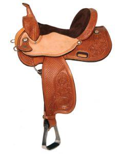Iron Flower Barrel Saddle