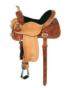 Shining Star Barrel Saddle