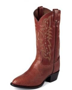 Exotic  Peanut Brittle Lizard Western by Tony Lama Boots