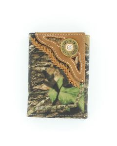Shotgun Mossy Oak Tri-Fold Wallet