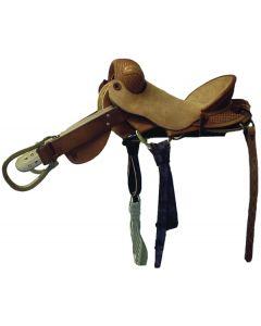 Bronc Saddle Roughout