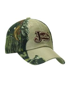 Justin® Mossy Oak Camo with Tan Mesh