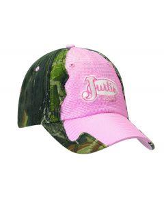 Justin® Pink Camo Cap
