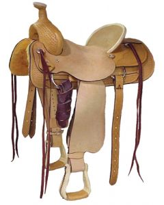 Half Breed Roper Saddle