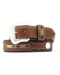 Top Hand Basic Leather Western Belt by Nocona