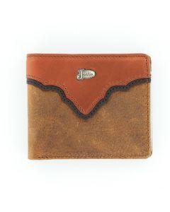Justin® Copper Grizzly Bi-Fold Wallet