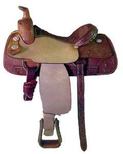 Combo Tooled Roper Saddle