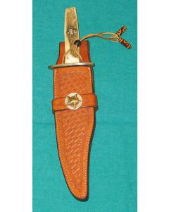 Custom Bowie Knife Sheath