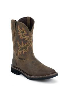 """11"""" Rugged Tan by Justin® Boots"""